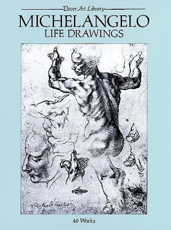 Michelangelo Life Drawings   1979 edition cover
