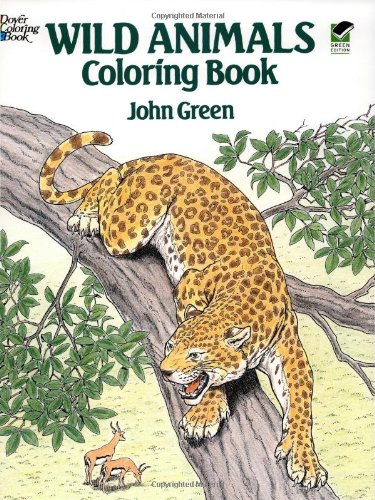 Wild Animals Coloring Book  N/A edition cover