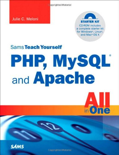 PHP, MySQL and Apache All in One  4th 2008 edition cover