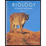 Biology Explorations Part I   2009 (Revised) 9780757501760 Front Cover