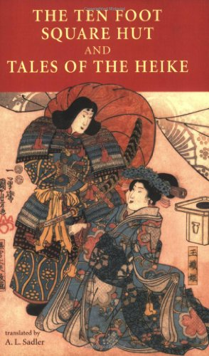 Ten Foot Square Hut and Tales of the Heike   2006 edition cover