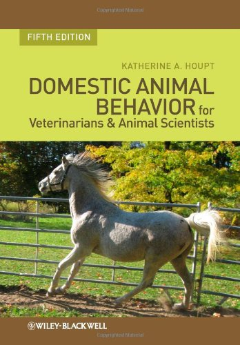 Domestic Animal Behavior for Veterinarians and Animal Scientists  5th 2011 edition cover