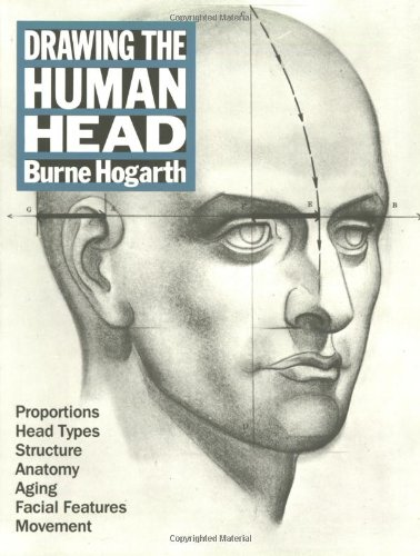 Drawing the Human Head   1989 edition cover