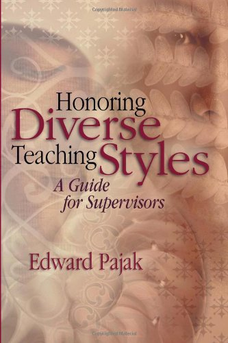Honoring Diverse Teaching Styles A Guide for Supervisors  2003 edition cover