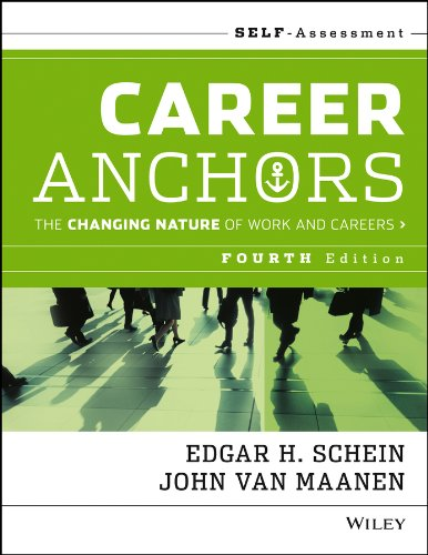 Career Anchors The Changing Nature of Work and Careers 4th 2013 edition cover