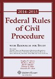 Federal Rule Civil Procedure 2014-2015  2014th 9781454841760 Front Cover