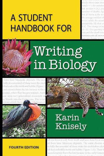 Student Handbook for Writing in Biology  4th 2014 (Revised) 9781464150760 Front Cover