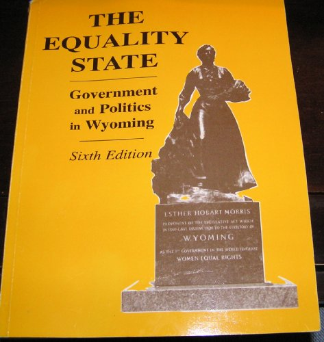 EQUALITY STATE:GOV.+POLITICS I 6th 2008 edition cover