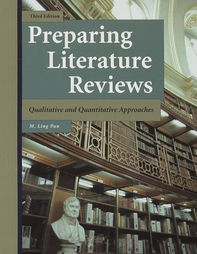Preparing Literature Reviews-3rd Ed Qualitative and Quantitative Approach 3rd 2008 edition cover
