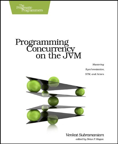 Programming Concurrency on the JVM Mastering Synchronization, STM, and Actors  2011 9781934356760 Front Cover