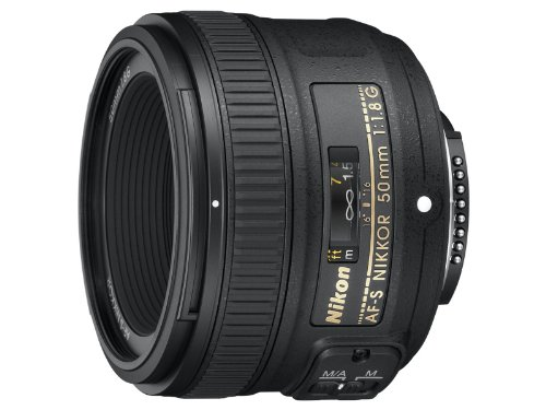 Nikon 50mm f/1.8G AF-S NIKKOR FX Lens for Nikon Digital SLR Cameras product image