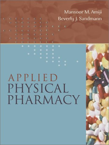 Applied Physical Pharmacy   2003 9780071350761 Front Cover