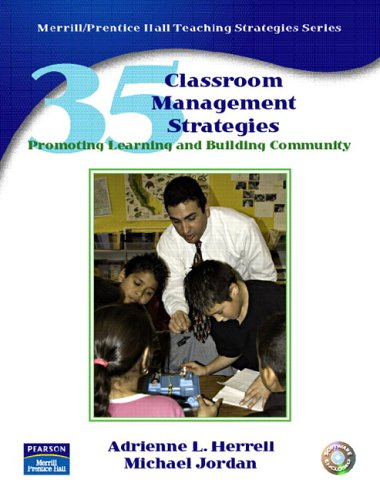 35 Classroom Management Strategies Promoting Learning and Building Community  2007 edition cover