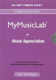 Music Appreciation  8th 2016 9780133861761 Front Cover
