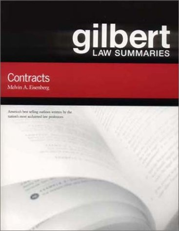 Gilbert Law Summary on Contracts  14th 2002 (Revised) edition cover
