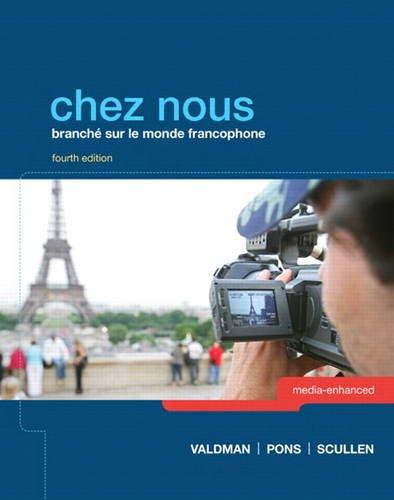 Chez Nous Branch� Sur le Monde Francophone 4th 2014 9780205933761 Front Cover