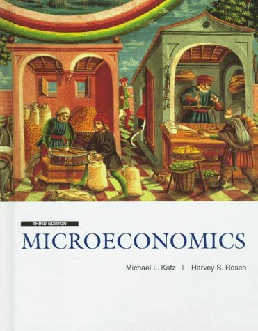 Microeconomics  3rd 1998 (Revised) edition cover