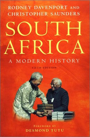South Africa A Modern History A Modern History 5th 2000 (Revised) edition cover