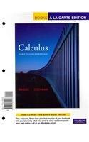 Calculus Early Transcendentals, Books a la Carte Plus MyMathLab/MyStatLab Student Access Kit  2011 edition cover