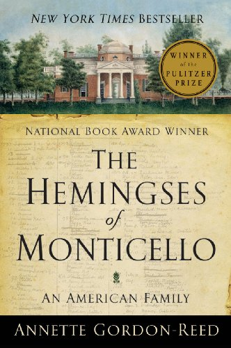 Hemingses of Monticello An American Family  2009 edition cover