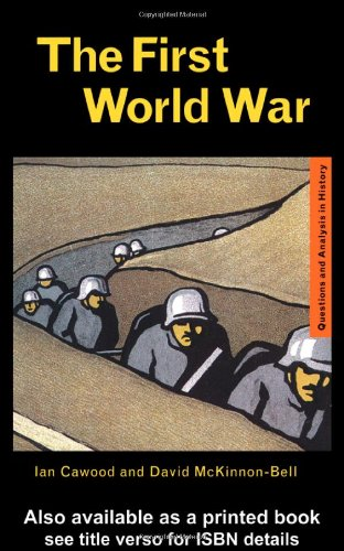 First World War   2000 edition cover