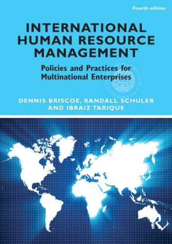 International Human Resource Management Policies and Practices for Multinational Enterprises 4th 2012 (Revised) edition cover