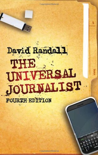Universal Journalist  4th 2011 9780745330761 Front Cover