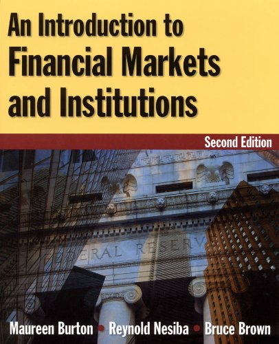 Introduction to Financial Markets and Institutions  2nd 2010 (Revised) edition cover