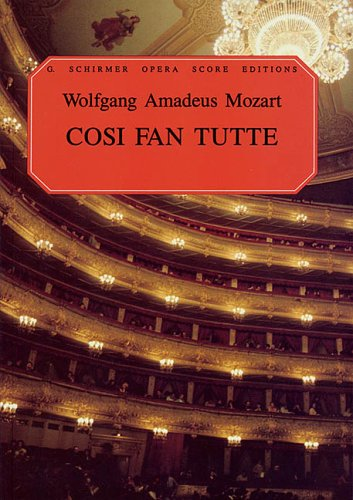 Cosi Fan Tutte Vocal Score N/A edition cover