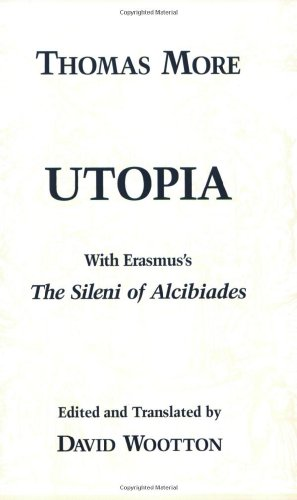 Utopia With Erasmus's 'the Sileni of Alcibiades'  1999 edition cover