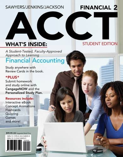 Financial Accounting  2nd 2013 (Revised) 9781111530761 Front Cover