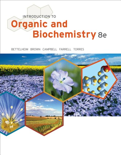 Introduction to Organic and Biochemistry  8th 2013 edition cover