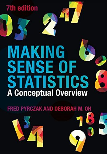 Making Sense of Statistics A Conceptual Overview 7th 2018 9781138894761 Front Cover
