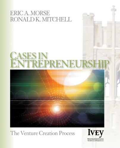 Cases in Entrepreneurship The Venture Creation Process  2006 edition cover