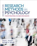 Research Methods in Psychology Investigating Human Behavior 2nd 2015 edition cover