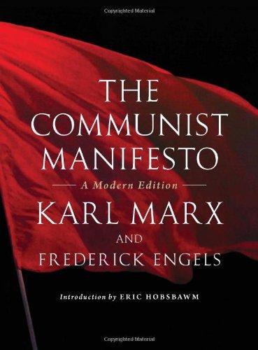 Communist Manifesto A Modern Edition  2012 edition cover