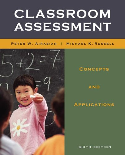 Classroom Assessment  6th 2008 (Revised) edition cover