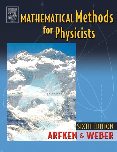 Mathematical Methods for Physicists  6th 2005 (Revised) 9780120598762 Front Cover