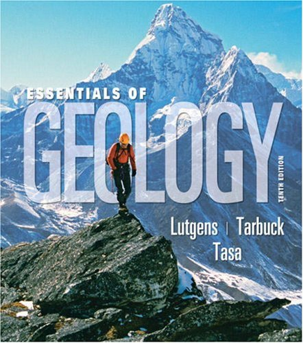 Essentials of Geology  10th 2009 edition cover