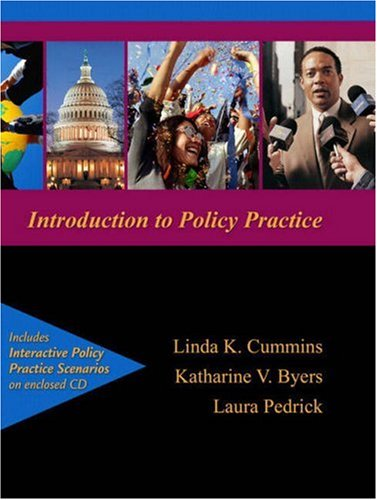 Policy Practice for Social Workers New Strategies for a New Era  2011 edition cover