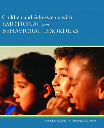 Children and Adolescents with Emotional and Behavioral Disorders   2010 edition cover