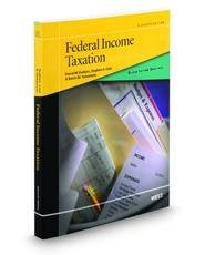 Black Letter Outline on Federal Income Taxation:   2013 9780314287762 Front Cover