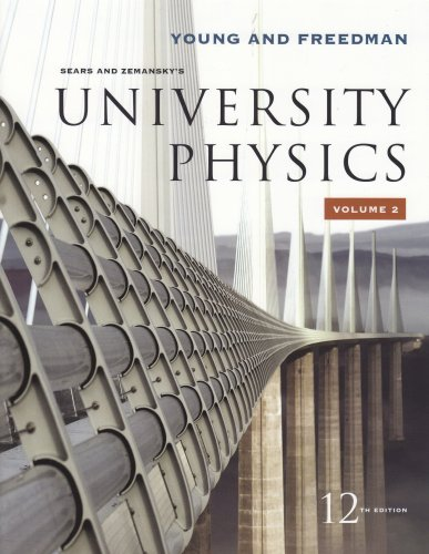 University Physics Vol 2 (Chapters 21-37)  12th 2008 edition cover