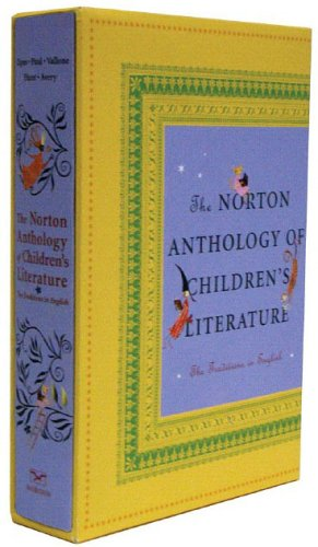 Norton Anthology of Children's Literature The Traditions in English  2005 edition cover