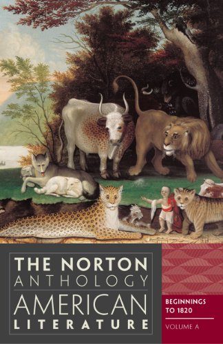 Norton Anthology of American Literature  8th 2012 edition cover