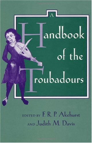 Handbook of the Troubadours   1995 edition cover