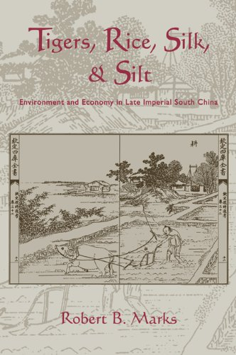 Tigers, Rice, Silk, and Silt Environment and Economy in Late Imperial South China  2006 9780521027762 Front Cover
