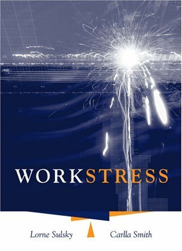 Work Stress   2005 9780534575762 Front Cover