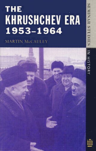 Khrushchev Era, 1953-1964   1995 edition cover