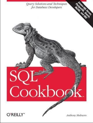 SQL Cookbook Query Solutions and Techniques for Database Developers  2006 9780596009762 Front Cover